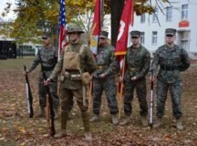 Marines dedicate Panzer Kaserne parade ground as 'Devil Dog Field'