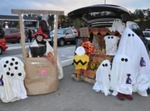 Student-organized 'Trunk or Treat' event offers fun, philanthropy