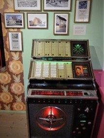 Elvis Exhibit Jukebox