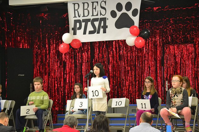 Top speller of RBES spelling bee to compete at Ramstein