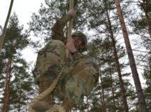 Spc. Joshua Lantz, USAG Stuttgart, is the 2019 IMCOM-Europe Best Warrior/Soldier of the Year. Photos by Sgt. 1st Class Jaquetta Gooden