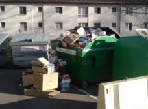 Fumes in trash truck lead to urgent call for community to dispose refuse properly