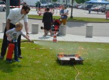 Open house demonstrates garrison FD capabilities