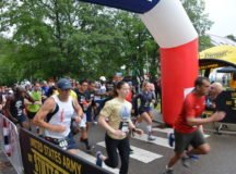 Rain threatens, doesn't stop hundreds from run to remember