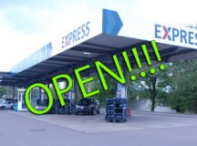 Patch Express gas station reopens after four-week project.
