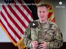 Garrison commander welcomes newcomers virtually