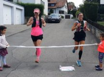 Runners challenge each other amid COVID-19