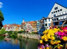 The university town of Tübingen is only 45 minutes