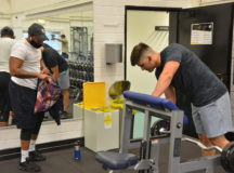 Fitness centers change mask-wear policy