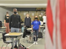 Students reflect on meaning of the pledge of allegiance